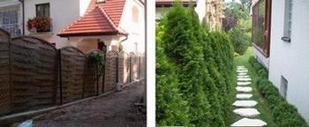 Zakładanie i projekty ogrodów - w trakcie prac